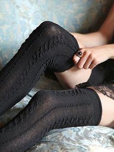 Sexy Tall Sock Leggings <3