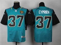 Jacksonville Jaguars #37 Cyprien Teal-Black Alternate NFL Elite Jersey