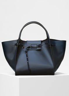 3281d79e70e1c Medium Big Bag in shiny natural calfskin - セリーヌについて Handtaschen