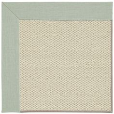 Inspirit Linen Machine Tufted Minty/Beige Area Rug