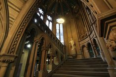 Gothic Architecture Interior New With Photo Of Gothic Architecture Painting Fresh At Design Gothic Castle, Dark Castle, Medieval Castle, Dark Gothic, Victorian Gothic, Gothic Background, Manchester Town Hall, Castle Wall, Stairway To Heaven