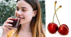Zobacz dlaczego warto pić SOK WIŚNIOWY przed snem! Fruit, Food, The Fruit, Meals, Yemek, Eten