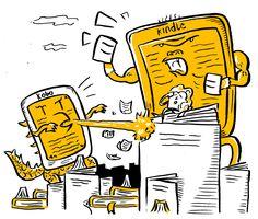 """Amazon """"Superman"""" Kindle vs Rakuten """"Godzilla"""" Kobo.  Rakuten anticipa la mossa di Amazon e prova a smuovere i giapponesi sul fronte ebook promettendo di voler disseminare le librerie nipponiche del suo Kobo, facendo leva sul nazionalismo commerciale che dovrebbe farlo preferire ad Amazon. Il colosso americano non cede campo e mette un piede nella fessura della porta annunciando l'arrivo del Kindle. Intanto in Italia l'ereader giapponese ha trovato nella Mondadori... continua a leggere>>>"""