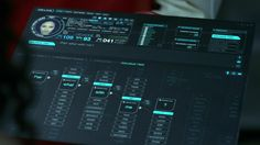 """Chris Kieffer's FUI graphics for Westworld.  But wait, there's more! Chris says """"After the Final episode I will do a breakdown of all design and animation of the FUI/UI graphics I did.""""  Thanks to @daishi424 for helping find this"""