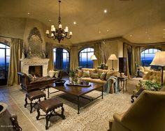 A Glamourous Spanish Style Mansion   Elegant Residences