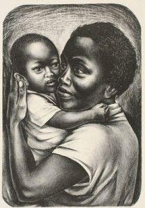 Maternity by Elizabeth Catlett, 1959  