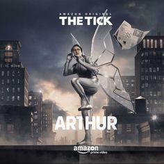 A Amazon divulgou sete cartazes de personagens da série The Tick, baseada nos quadrinhos criados por Ben Edlund. Os cartazes destacam, entre outros, Arthur (Griffin Newman), Dot (Valorie Curry), Te…