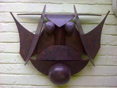 Edoardo Villa - steel mask