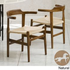 Christopher Knight Home Ranger Wood Chair (Set of 2)   Overstock.com Shopping - Great Deals on Christopher Knight Home Chairs