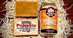 Beer Soap, Pumpkin Pumpkin Beer, Pumpkin Pie Spice, Shea Butter Oil, Beer Soap, Beard Balm, Shampoo Bar, Fall Pumpkins, Allergies, Coconut Oil