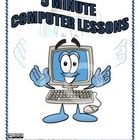 5 Minute Computer Lessons provides 10 uber-friendly lessons for anybody. These lessons are for beginner to intermediate level people. This is wha. Computer Teacher, Computer Lessons, Computer Lab, School Levels, Technology Integration, Uber, Elementary Schools, Growing Up, Give It To Me