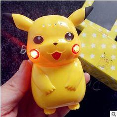 2016 hot selling cartoon 10000mah power bank  super Pikachu pokemon portable battery With LED Light //Price: $US $16.69 & FREE Shipping //     #apple