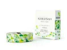 Kikusui 'Green Fields' Washi Tape // #rabbitandtheduck #washi