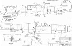 Fuselage stencil plan