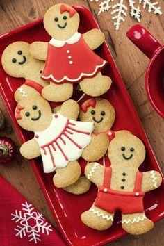 such cute gingerbread men