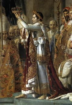Consecration of the Emperor Napoleon I - by Jacques-Louis David.