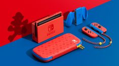 Nintendo's intensely red Mario-themed Switch will be available February 12th | Engadget