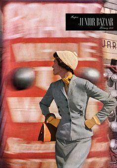 Junior Bazaar 1950  Karen Radkai
