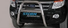 Ford Ranger High Front A-Bar Stainless Steel on) Roller Shutters, Ford Ranger, 4x4, Stainless Steel, Accessories, Blinds, Jewelry Accessories