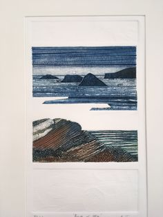 Collagraph with blind embossing. Collagraph Printmaking, Blind Embossing, Lino Prints, Artworks, Beast, Abstract Art, Artsy, Printing, Tapestry
