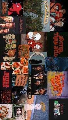 Halloween collage wallpaper