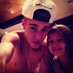 Justin Bieber and Princess Jazmine