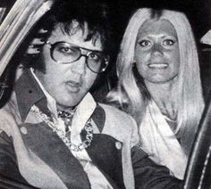 With Diana Goodman in the back of his limo July 19, 1975