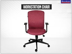 This series features back rests that go beyond the back area to give maximum lumbar support & sheer sitting pleasure. #WorkstationChair