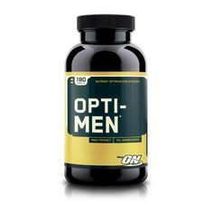 Are you getting all the essential vitamins and minerals your body needs from your food? Probably not. Opti-Men can help.