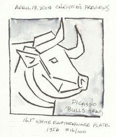 Picasso bull head