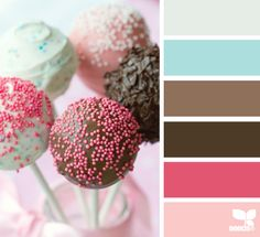 This gives meaning to our favorite term 'pop' of color!  A perfect palette of inspiration for kids room paint colors
