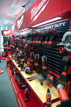 Milwaukee Tools Point Of Purchase by craig burton at Coroflot.com