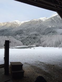 View from the barn. Dreamcatcher Meadows is located the beautiful Pemberton Valley, BC. Horse Shop, Training Center, Equestrian, The Row, Grateful, Dream Catcher, Barn, Horses, Mountains