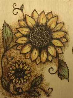 Image result for Easy Wood-Burning Patterns Flower