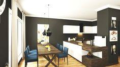 Hall kitchen design