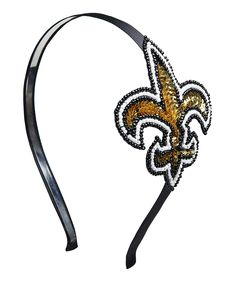 Another great find on #zulily! New Orleans Saints Hair Band by Aminco #zulilyfinds