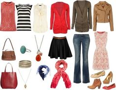 Casual outfit Casual Spring Capsule Wardrobe