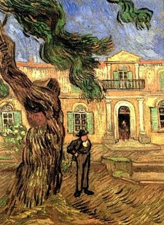 Van Gogh, ...hospital Saint Paul.