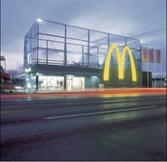 McDonald's Drive-In Restaurant in Maribor, Slovenia Gets Makeover #architecture trendhunter.com