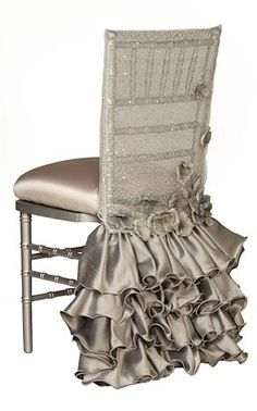 This elegant and plush white velvet chair cover can be used for all occasions from fun and flirty to elegant and sophisticated (Nikki Khan Collection). Chair Sashes, Chair Backs, Chiavari Chairs, Dining Chairs, Room Chairs, Office Chairs, Lounge Chairs, Club Chairs, Party Chairs