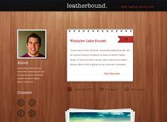 Leatherbound Tumblr Theme