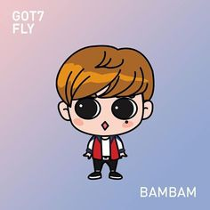 Got7 Bam Bam gotoon inspired for fly era ^^ #gotoon  #got7 #got7bambam #bambam #뱀뱀 #got7fly @bambam1a #갓세분 #kunpimookbhuwakul and.. we are 1 week away from GOT7fly in SG ^^ though i didnt win any fan sign nor hitouch >_<