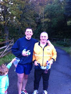Stewart Williamson and Chris Barrowman, our Dentist, deserve a huge congratulations today for running up and down Ben Y Vrackie this morning in an amazing time of 1hour 28minutes. Both of them decided to do this challenge to raise money for the Pitlochry Pre-School Playgroup as they are both fathers of children who attend the local Playgroup. Well Done to the both of you. Infinityblu Dental Care Pitlochry www.infinitybludental.co.uk