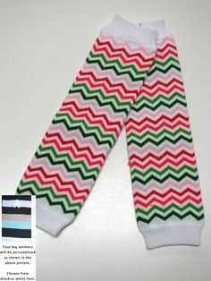 PINK GREEN CHEVRON baby leg warmers.  Great for by DiapersNthings1, $6.99  https://www.etsy.com/listing/157273833/pink-green-chevron-baby-leg-warmers?ref=sr_gallery_19&ga_order=date_desc&ga_view_type=gallery&ga_page=70&ga_search_type=all