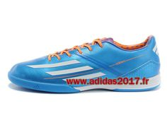 Boutique Adidas Hommes Chaussure (2014) F10 TRX TF Bleu