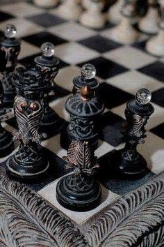 It doesn't matter if you play chess or not with a set this lovely.
