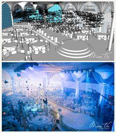 Aisle | Angelic - Nam&Ngoc #misavuluxuryevents #MisaVu #Decorations #Angelic #Wedding #luxury #white #events #stage #aisle #architecture #party #weddingceremony #sketch