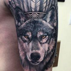 TATTOOS INNMEJORABLES Tenemos los mejores tatuajes y #tattoos en nuestra página web tatuajes.tattoo entra a ver estas ideas de #tattoo y todas las fotos que tenemos en la web.  Tatuaje Lobo #tatuajeLobo