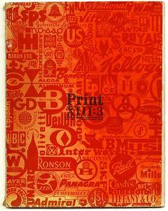 Nanci Lyman [Editor]: PRINT: AMERICA'S GRAPHIC DESIGN MAGAZINE. New York: Volume 13, Number 3, May 1959.