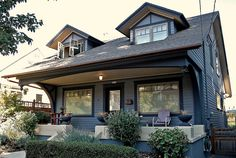 Craftsman Home.  One day I would love to own a craftsman home.